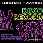 NAVARRO, Lorenzo - Disco Record (Front Cover)