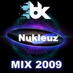BK/VARIOUS - Nukleuz Mix 2009 (Front Cover)