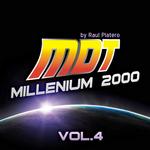 PLATERO, Raul/VARIOUS - MDT Millenium 2000 Vol 4 (unmixed tracks) (Front Cover)