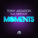 ARZADON, Tony feat NIKKI KAY - Moments (Front Cover)