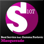 BEAT SERVICE feat GEMMA PAVLOVIC - Masquerade (Front Cover)