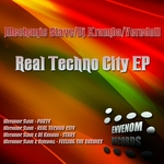 MECHANIC SLAVE - Real Techno City EP (Front Cover)