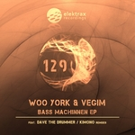 WOO YORK/VEGIM - Bass Machinnen EP (Front Cover)