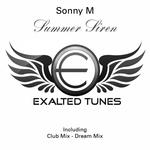 SONNY M - Summer Siren (Front Cover)