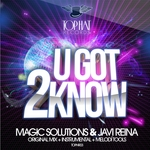MAGIC SOLUTIONS/JAVI REINA - U Got 2 Know (Front Cover)