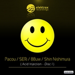 PACOU/SERI/88UW/SHIN NISHIMURA - Acid Injection Vol 1 (Front Cover)