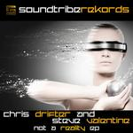 DRIFTER, Chris/STEVE VALENTINE - Not A Reality EP (Front Cover)