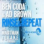 CODA, Ben/AD BROWN - Rinse & Repeat (Front Cover)