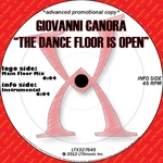 CANORA, Giovanni - The Dance Floor Is Open (Front Cover)