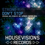 STRONG R - Don't Stop (Front Cover)
