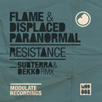 FLAME/DISPACED PARANORMAL - Resistance (Front Cover)