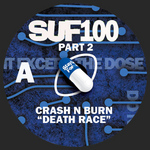 CRASH N BURN/COGS BEANS & THE MACHINES - SUF 100 Part 2 (Front Cover)