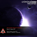 SPAIANI, Alessandro/ABSTRACT IT - Race In Space EP (Front Cover)