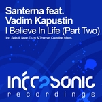 SANTERNA feat VADIM KAPUSTIN - I Believe In Life (Part 2) (Front Cover)