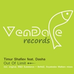 SHAFIEV, Timur feat DASHA - Out Of Limit (Front Cover)