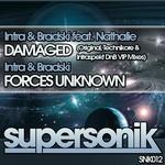 INTRA/BRADSKI feat NATHALIE - Damaged (Front Cover)