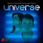 KI, Taira/EMMANUEL CRONOS presents TAICROS - Universe (Front Cover)