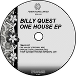 QUEST, Billy - One House EP (Front Cover)