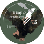 D DIGGLER - Permanent Waves (Front Cover)
