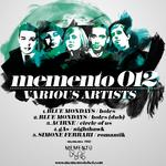 BLUE MONDAYS/GAS/ACIRNE/SIMONE FERRARI - Memento 012 (Front Cover)