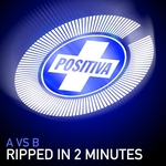A vs B - Ripped In 2 Minutes (Front Cover)