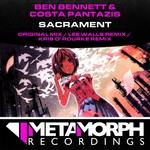 BENNETT, Ben/COSTA PANTAZIS - Sacrament (Front Cover)