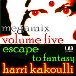 KAKOULLI, Harri - Escape To Fantasy: Volume Five (DJ mix) (Front Cover)