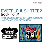 EVENFLO/SHATTER - Back To 94 (Front Cover)