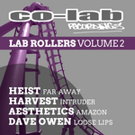 HEIST/HARVEST/AESTHETICS/DAVE OWEN - Lab Rollers Volume 2 EP (Front Cover)