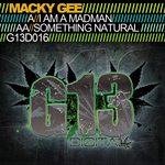 GEE, Macky - I Am A Madman (Front Cover)