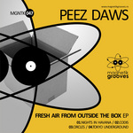 PEEZ DAWS - Fresh Air From Outside The Box (Front Cover)
