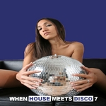 VARIOUS - When House Meets Disco Vol 7 (Front Cover)