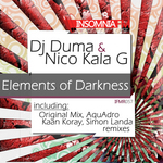 DJ DUMA/NICO KALA G - Elements Of Darkness (Back Cover)