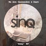 We Are Cassandre/Dast - Away EP (Front Cover)