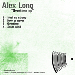 LONG, Alex - Overtime EP (Front Cover)