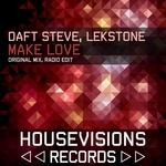 DAFT STEVE/LEKSTONE - Make Love (Front Cover)