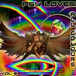 VARIOUS - Psy Loves All Colours 5 (Front Cover)