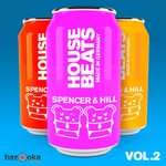SPENCER & HILL/VARIOUS - House Beats Made In Germany Vol 2 (unmixed tracks) (Front Cover)