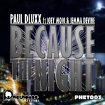 DLUXX, Paul/JOEY MOJO/JEMMA DEVINE - Because The Night (Front Cover)