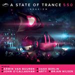 VAN BUUREN, Armin/DASH BERLIN/JOHN O CALLAGHAN/ARTY/ORJAN NILSEN/VARIOUS - A State Of Trance 550 (mixed version) (Front Cover)