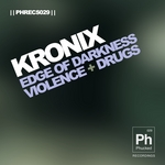 KRONIX - Edge Of Darkness (Front Cover)