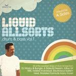 A SIDES/VARIOUS - Liquid Allsorts: Drum & Bass Volume 1 (mixed by A Sides) (Front Cover)