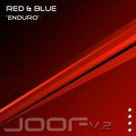RED & BLUE - Enduro (Front Cover)