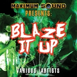 VARIOUS - Blaze It Up (Front Cover)