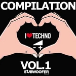 VARIOUS - I Love Techno Greatest Hits Vol 1 (Subwoofer Records) (Front Cover)