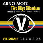 ARNO MOTZ - Two Keys Colombian (Front Cover)