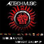 MOLDAVIUS - Midnight's Gallop (Front Cover)