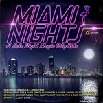 VARIOUS - Miami Nights (Front Cover)