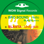 BRO SOUND/BLASTA - Hello (Front Cover)