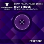 BINARY FINARY vs PULSE & SPHERE - High Stress (Front Cover)
